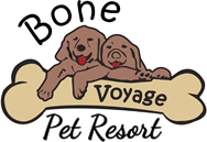 Bone Voyage Pet Resort logo